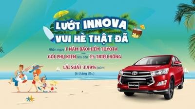 Chương trình khuyến mãi đặc biệt mùa hè cùng Toyota Innova