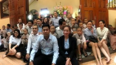 Chuyến đi từ thiện đến chùa Từ Hạnh