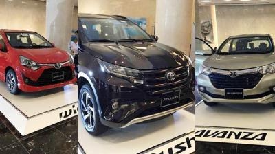 Toyota ra mắt 3 xe nhập khẩu tại Việt Nam,giá từ 345 triệu đồng