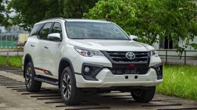 Miễn Phí Thuế Trước Bạ Khi Sở Hữu Xe Toyota Fortuner TRD