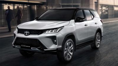 Toyota Fortuner 2020 thiết kế thay đổi hoàn toàn mới