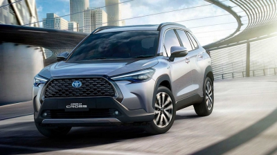 Toyota Corolla Altis Cross sắp trình làng tại Việt Nam